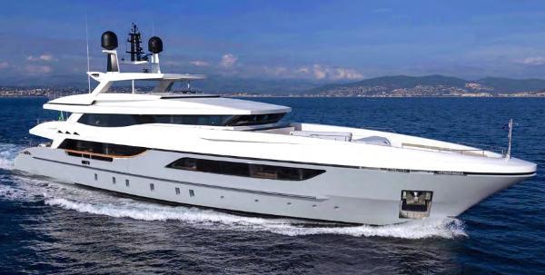 Baglietto 46 m Luxury Motor Super Yacht