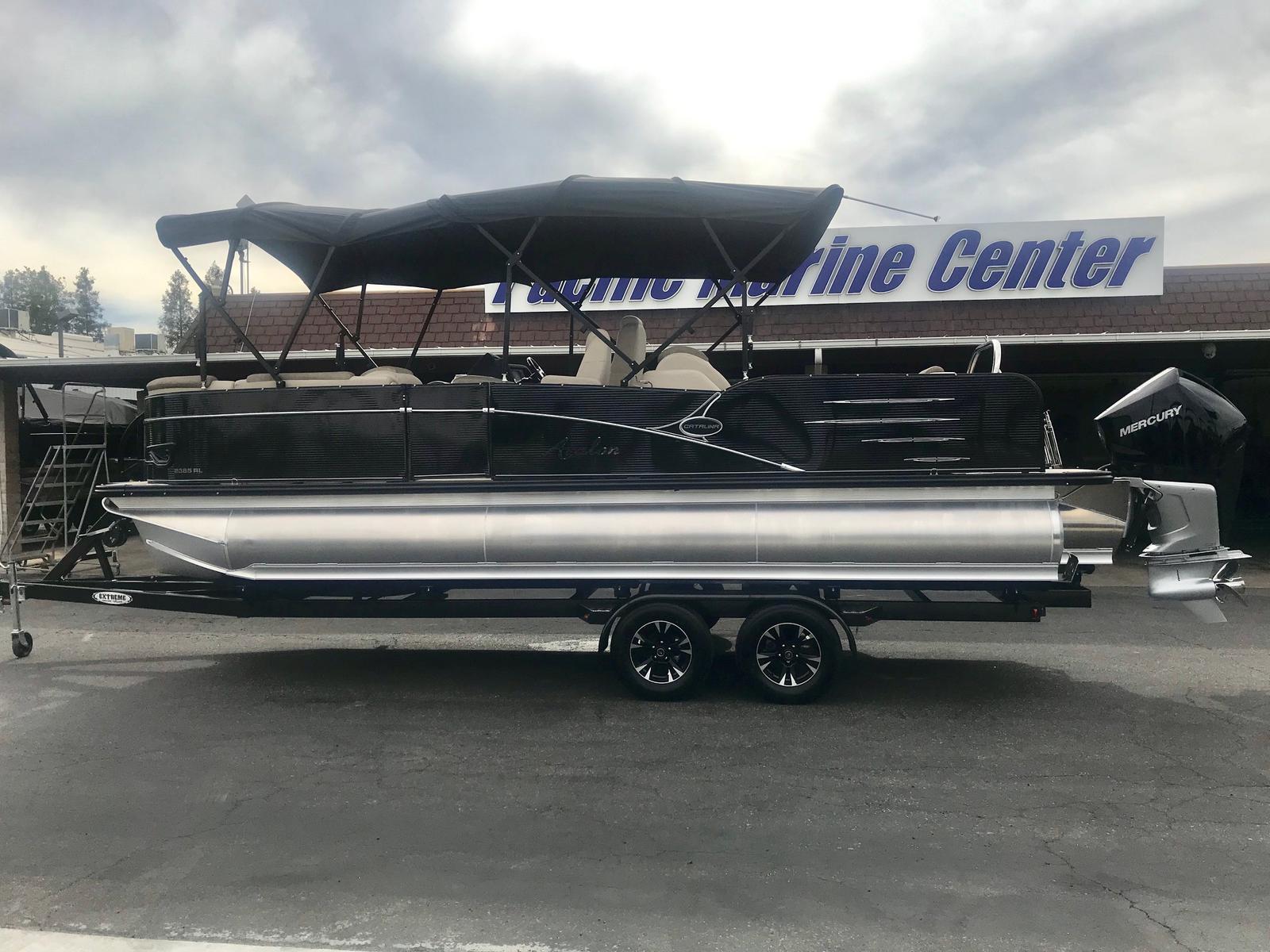 Avalon Catalina Rear Lounger 23' w/ 250 HP Mercury Verado!