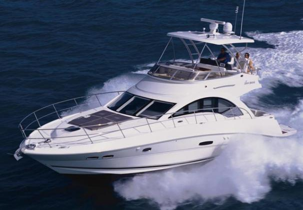 Sea Ray 47 Sedan Bridge Manufacturer Provided Image
