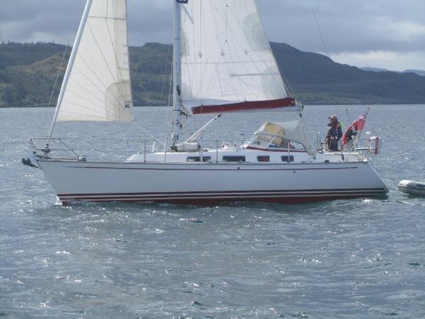 Najad 332 Sailing