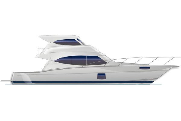 Maritimo 470 Offshore Convertible Profile