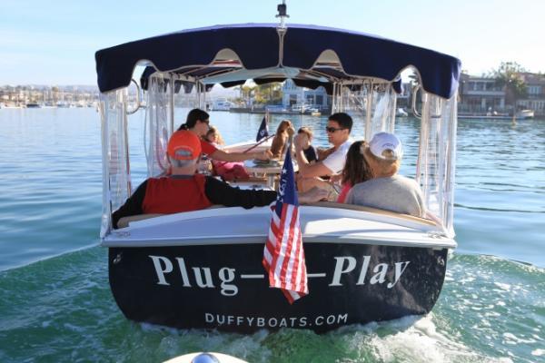 Duffy Electric Boat Duffy Electric Transom Duffy