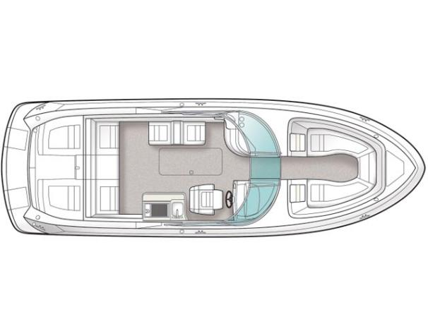 Optional deck plan.