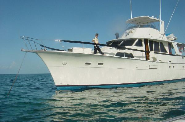 Hatteras 58 Yacht Fisherman Profile