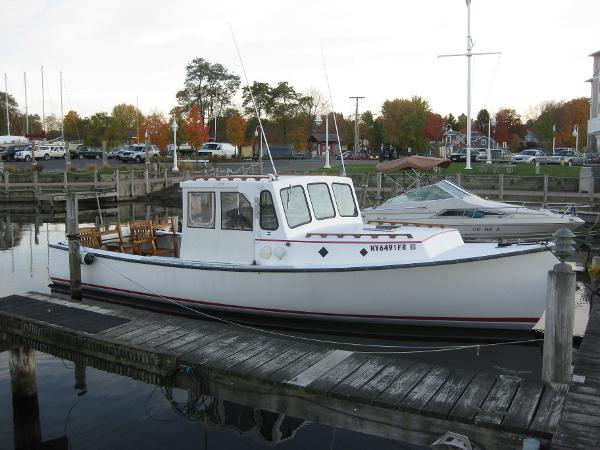 30' Duffy Downeast Fishing Boat For Sale