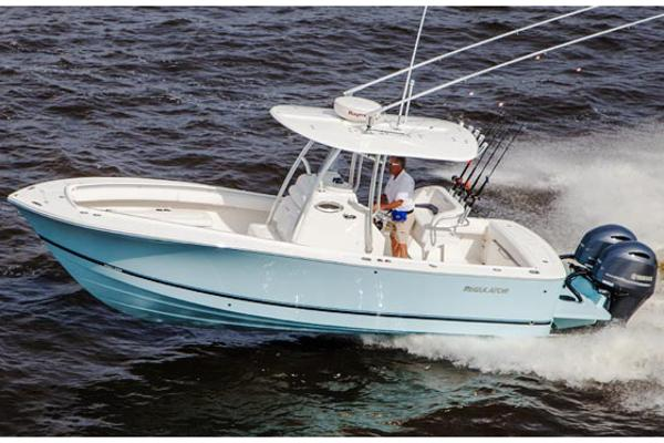 "Regulator ""25 Center Console"" Manufacturer Provided Image"