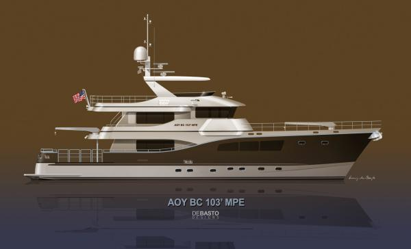 "All Ocean Yachts BC 103 Multi Purpose ""Steel or Fiberglass"" Explorer"