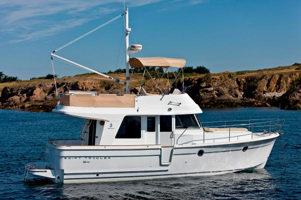 Beneteau America Swift Trawler 34 Manufacturer Provided Image