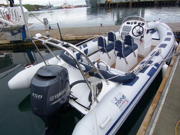 Ribeye 650 On the dock - Ribeye 650