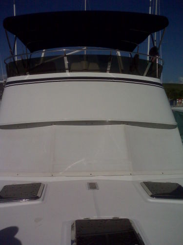 Aft View/Flybridge