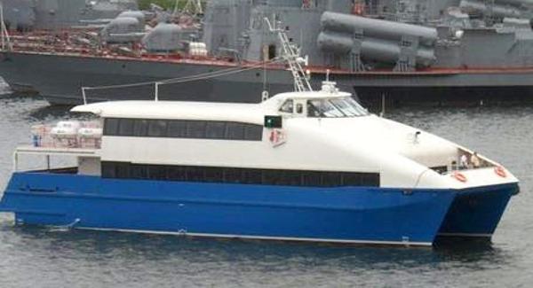 Custom 93' Fast Ferry