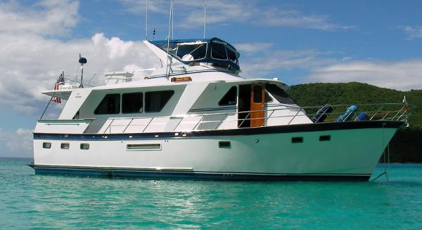 De Fever Performance Offshore Cruiser 53' DeFever starboard profile