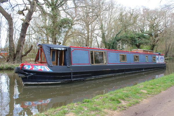 Lambon Semi Trad 57' Narrowboat