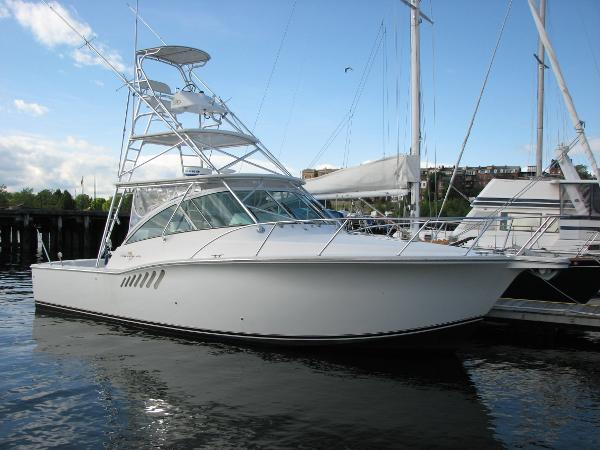 Albemarle 360 Express Fisherman Starboard Profile