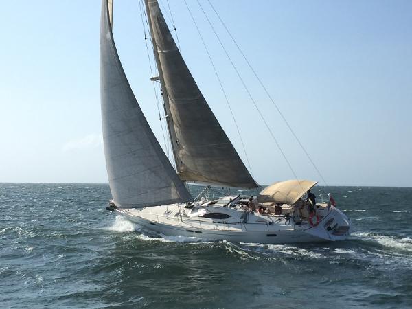 Jeanneau Sun Odyssey 54 DS Jeanneau Sun Odyssey 54 DS sailing