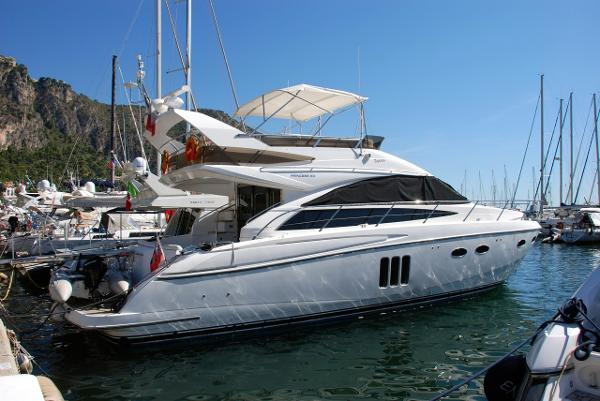 Princess 54 Flybridge Princess 54 profil