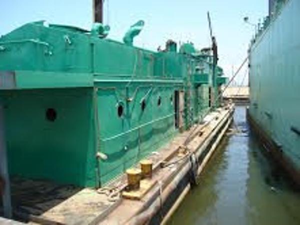 Vacuum Barge