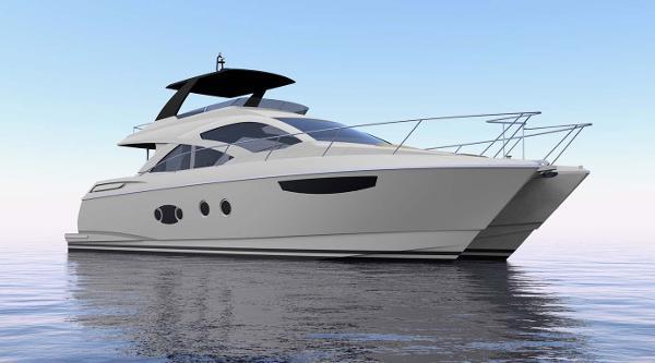 Mares 65 Catamaran Motor Yacht Profile