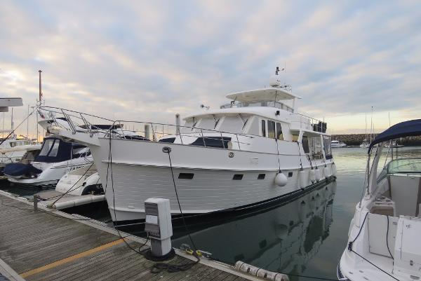 Grand Banks Aleutian 59 Port Side Hull