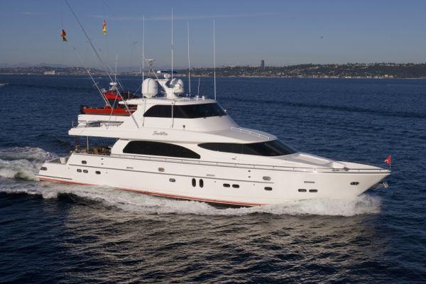 Horizon Skylounge Cockpit Motor Yacht Profile