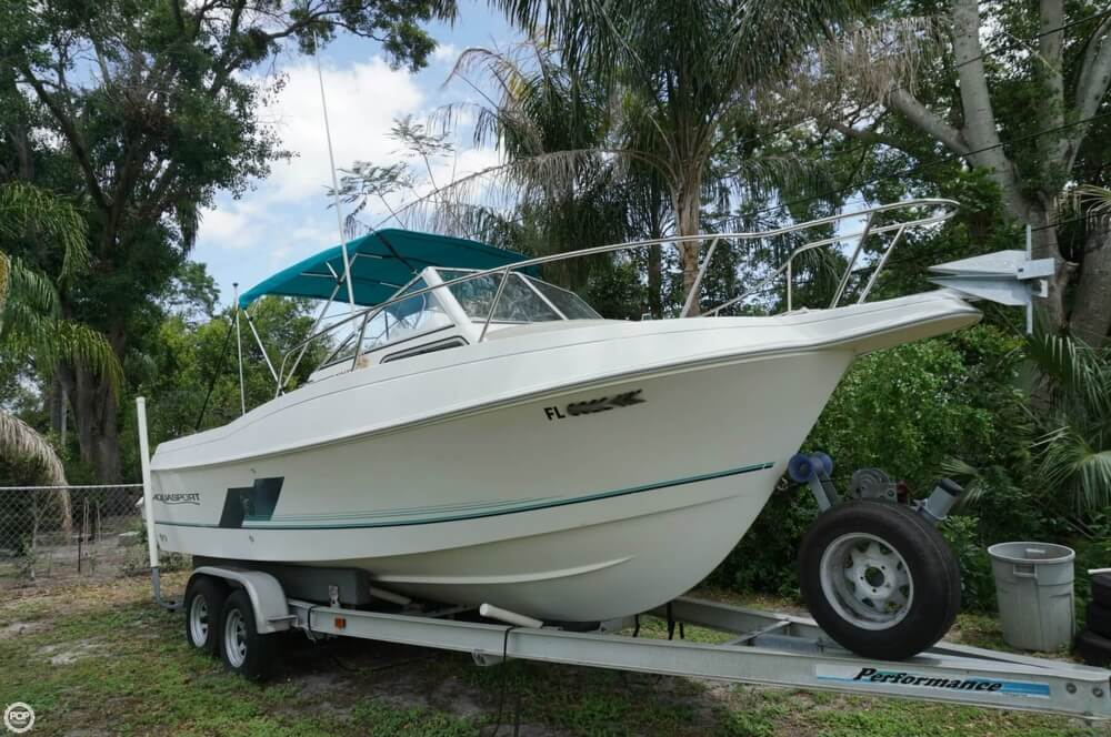 Aquasport 225 Explorer 1998 Aquasport 225 Explorer for sale in Clearwater, FL