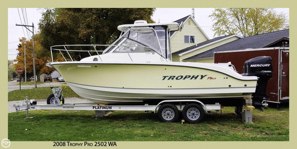 Trophy Pro 2502 WA 2008 Trophy PRO 2502 WA for sale in Wauseon, OH
