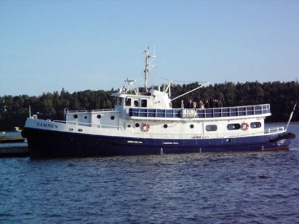 Custom Steel passenger vessel