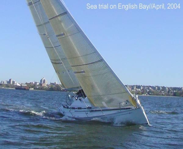 Bavaria Match 38 2004 sea trials
