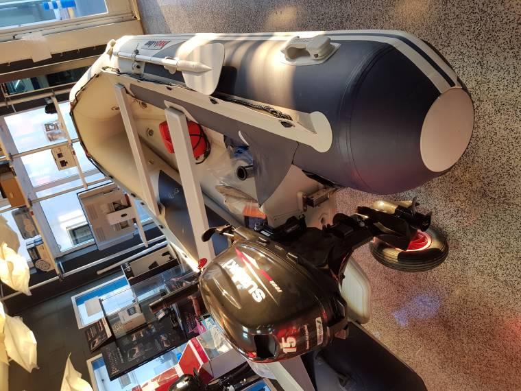 NEUMATICA HINCHABLE EN V .3.76 M CON SUZUKI 15 HP.