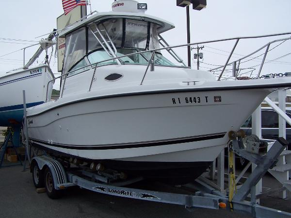 Seaswirl Striper 2101 WA Boat on Load Rite trailer