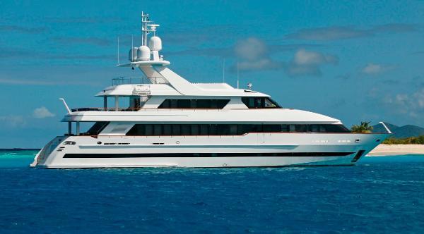 Moonen Tri Deck Motor Yacht
