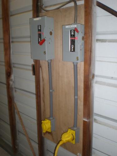 50 & 30 amp cutoff boxes