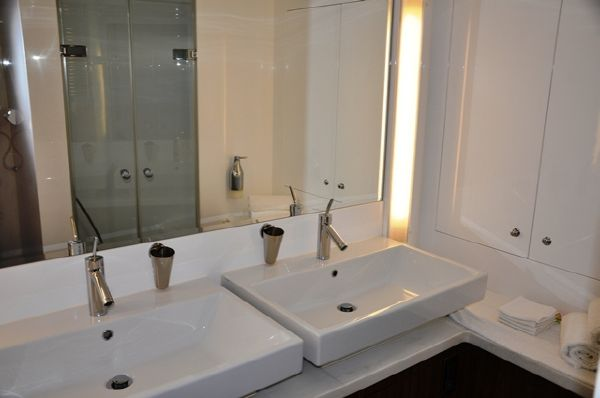 Master Stateroom Double Sinks