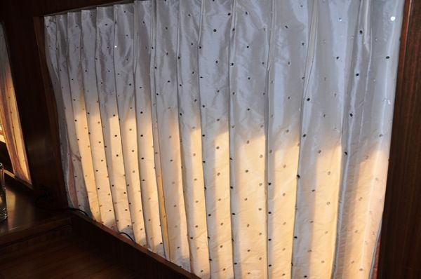 Swarovski Crystal in All Curtains!