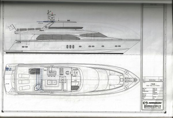 Flybridge Deck Plan