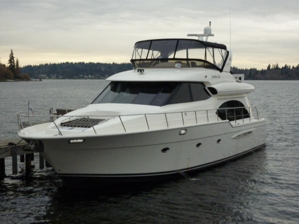 Meridian 580 Pilothouse Profile
