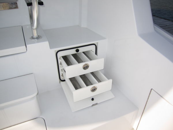 Cockpit Stainless Tackle Drawers