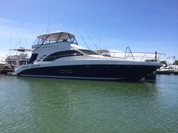 Sea Ray 550 Sedan Bridge NEW LISTING! FRESH WATER  900 MANS 2005 550 Sea Ray Sedan Bridge
