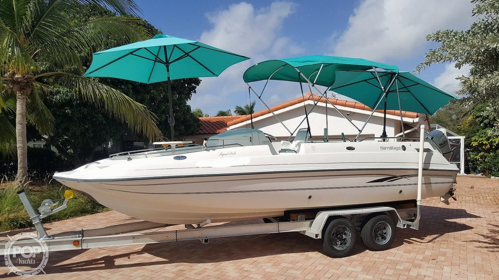 Harris-Kayot 22 Super Dek OB 2000 Harris Kayot Super Deck for sale in Lighthouse Point, FL