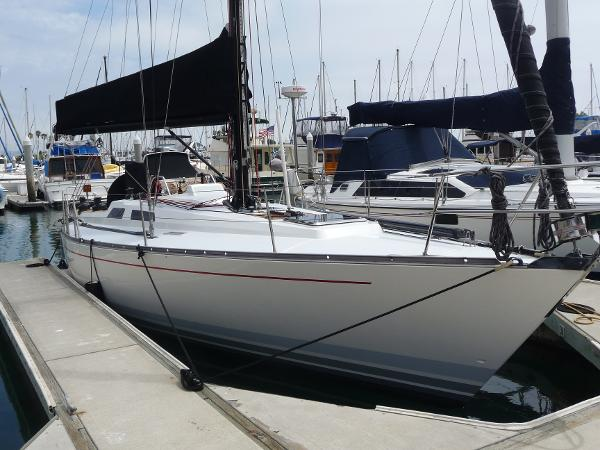 Baltic 38 DP Stbd. SIde Aft
