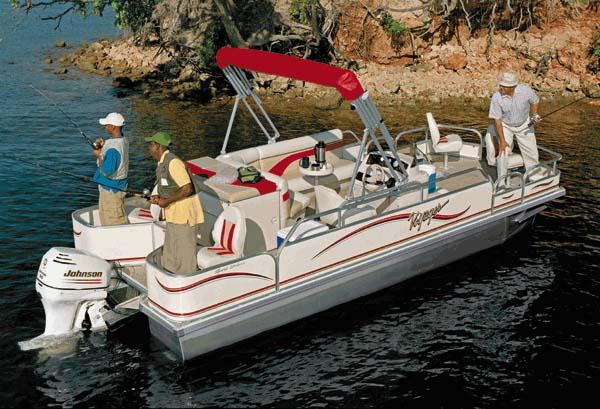 Voyager Pontoons 20 Supreme Fish Deluxe Manufacturer Provided Image