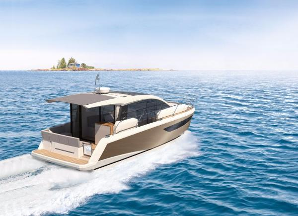 Sealine C330 Manufacturer Provided Image: Sealine C330 Cruising
