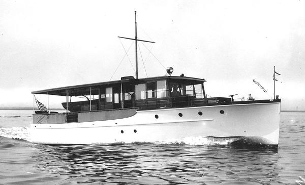 Elco Flat Top Classic Motor Yacht