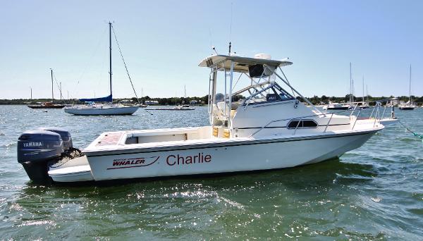 Boston Whaler Walk-Around Hardtop  starboard profile