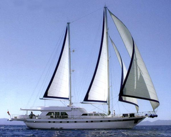 Muzaffer Mengi Yachting Motorsailer Ketch Photo 1