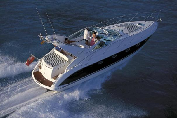 Fairline Targa 40 Manufacturer Provided Image: Above