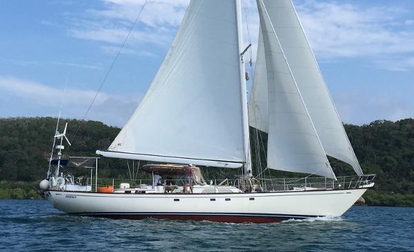 """Mason 64 Mason 64 """"Desden"""" sailing"""