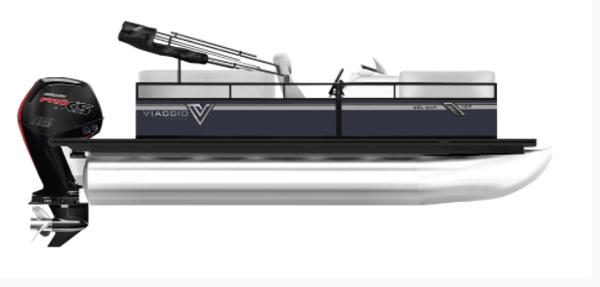Viaggio DM20C pontoon with 90Hp Suzuki