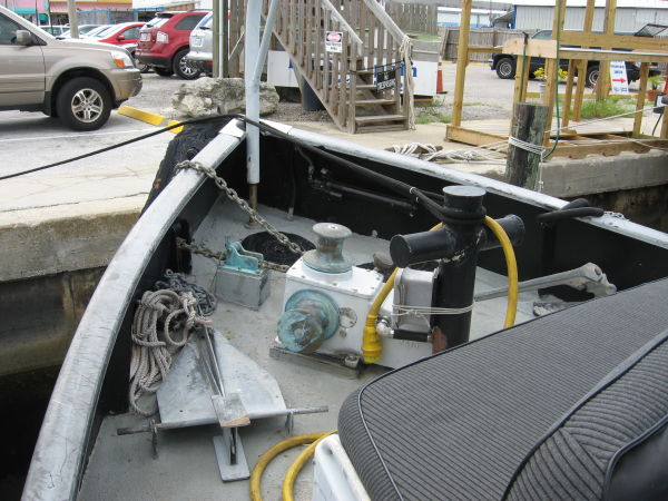Bow deck