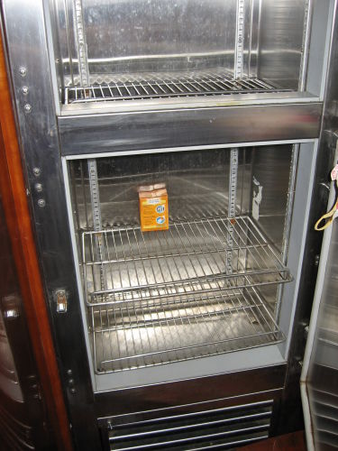 Twin commercial grade refrigerator/freezer